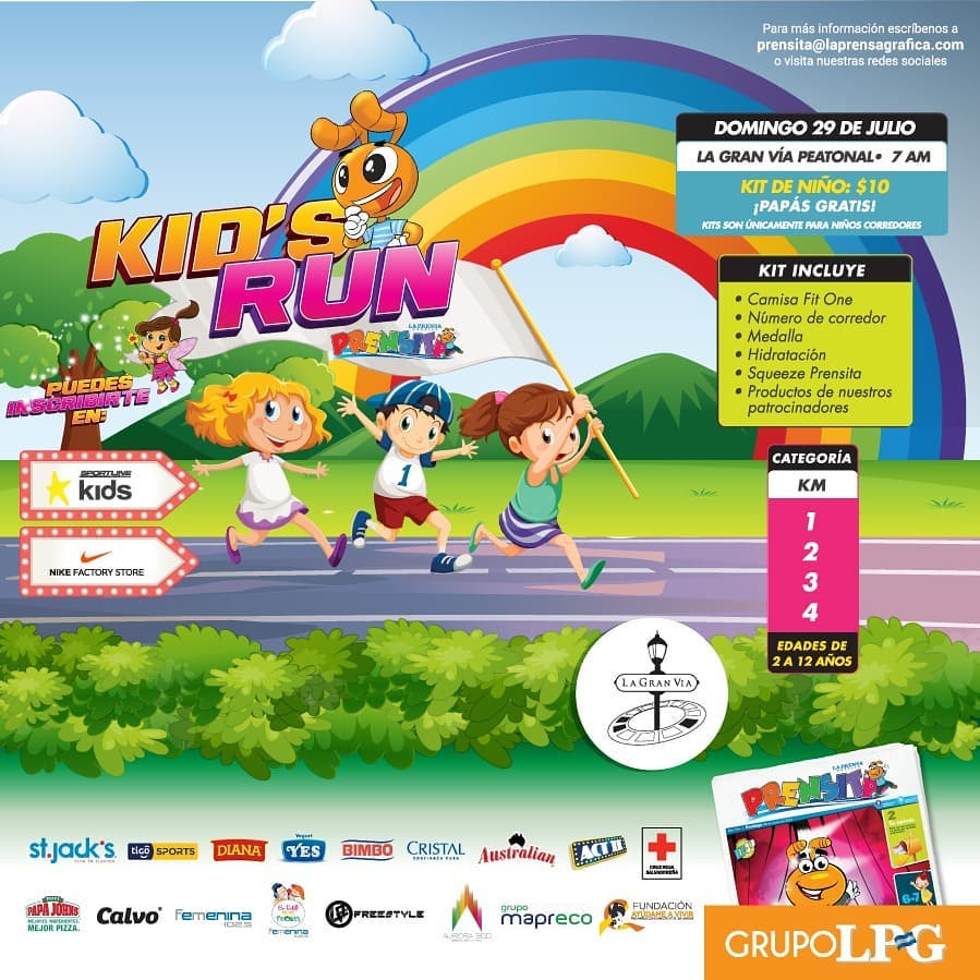 Kid's Run - Prensita